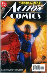 Action Comics #1 Dynamic Forces Signed Remarked Scott Hanna DF COA Ltd 800 Superman DC comic book